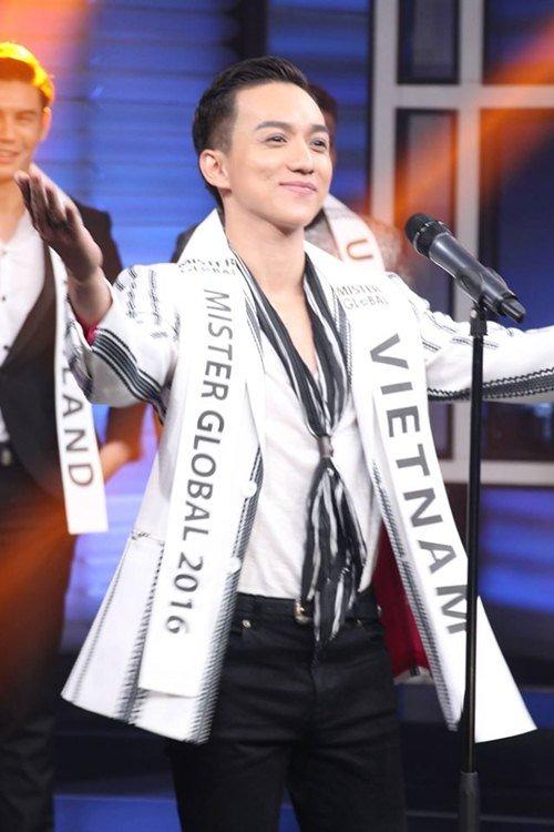 Đại diện Việt Nam gây chú ý giữa dàn thí sinh Mister Global 2016 - 3
