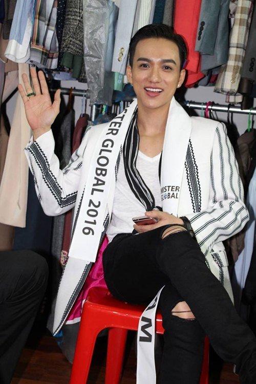 Đại diện Việt Nam gây chú ý giữa dàn thí sinh Mister Global 2016 - 5