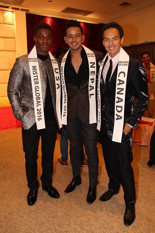 Đại diện Việt Nam gây chú ý giữa dàn thí sinh Mister Global 2016 - 8