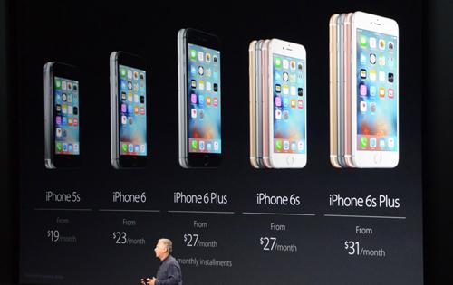 Doanh số iPhone hạ xuống mức thấp nhất trong lịch sử - 1