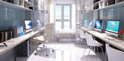 """Office-tel The Sun Avenue """"mở lối"""" cho nhà đầu tư - 1"""