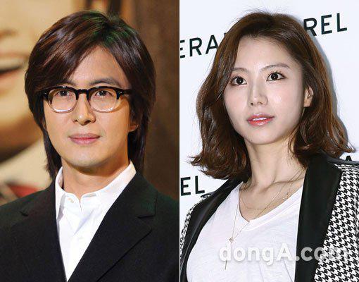 Bà xã Bae Yong Joon mang thai con đầu lòng - 1