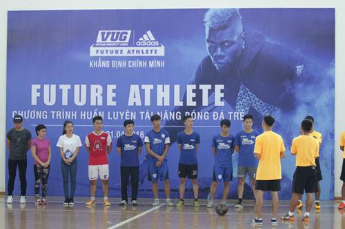 VUG và adidas khởi động chương trình huấn luyện bóng đá trẻ - 1