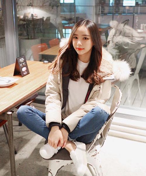 Sốc vì nhan sắc nguyên bản của hot girl đình đám xứ Hàn - 6
