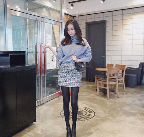 Sốc vì nhan sắc nguyên bản của hot girl đình đám xứ Hàn - 10