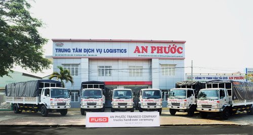 FUSO Việt Nam bàn giao lô xe tải đầu tiên cho Công ty An Phước - 2