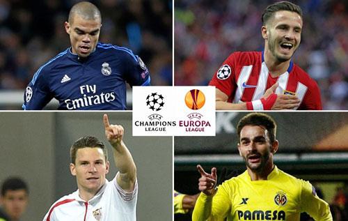 Giấc mơ kì diệu: 4 CLB Tây Ban Nha vào chung kết - 1
