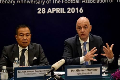 Thái Lan đề nghị được đăng cai World Cup - 1