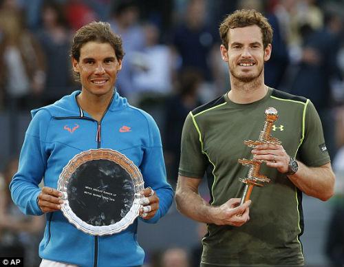 """Madrid Open: """"Bộ tứ siêu đẳng"""" tranh ngôi - 2"""