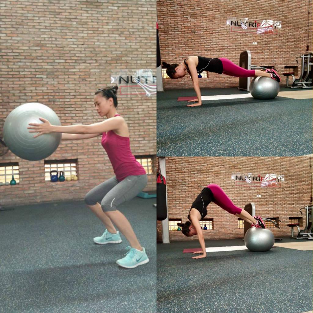 Học Ngô Thanh Vân 5 bài tập gym giúp trẻ hơn 10 tuổi - 3