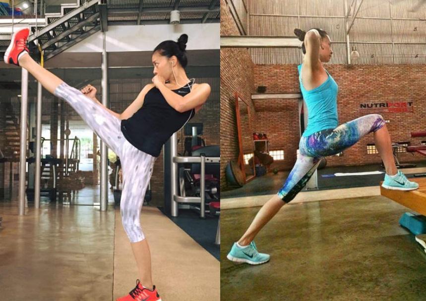 Học Ngô Thanh Vân 5 bài tập gym giúp trẻ hơn 10 tuổi - 4
