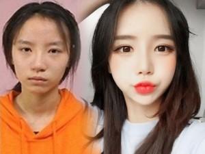 Sốc vì nhan sắc nguyên bản của hot girl đình đám xứ Hàn
