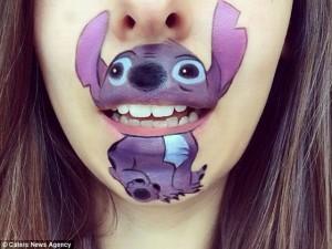 Kỳ quặc với nghệ thuật trang điểm lên môi