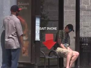 Chết cười với các chế thích trộm điện thoại