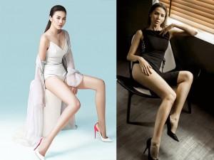 Mê mẩn ngắm những đôi chân siêu dài của mỹ nhân Việt