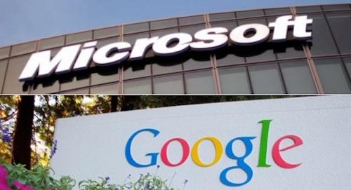 """Microsoft và Google đạt được """"hiệp ước hòa bình"""" - 1"""