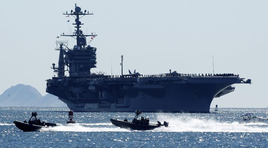 Trung Quốc từ chối tàu sân bay Mỹ vào cảng Hong Kong - 1