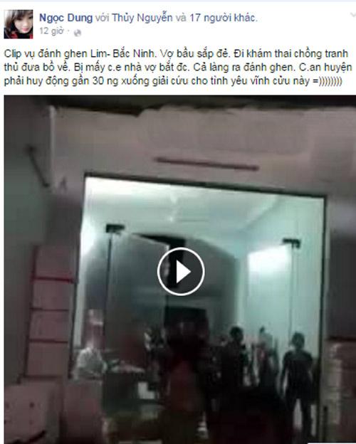 Màn đánh ghen đông nghịt người ở Bắc Ninh gây xôn xao - 1