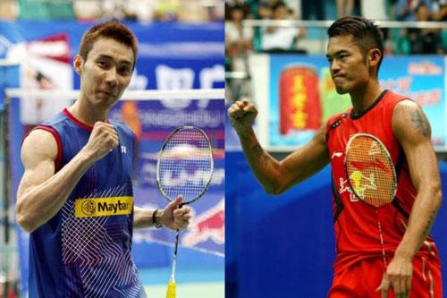 Video Lin Dan vs Lee Chong Wei - 1
