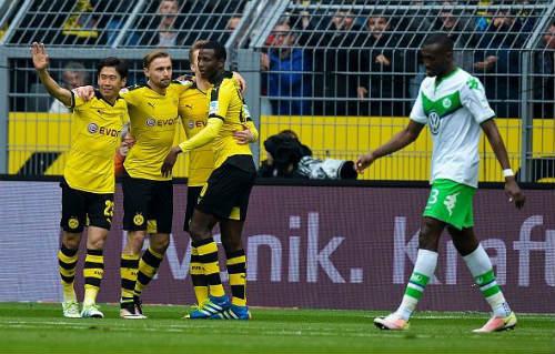 Video Dortmund vs Wolfsburg - 1