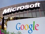 """Công nghệ thông tin - Microsoft và Google đạt được """"hiệp ước hòa bình"""""""
