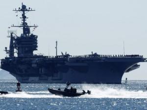 Trung Quốc từ chối tàu sân bay Mỹ vào cảng Hong Kong