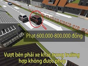 [Mô phỏng 3D] Những lỗi lái xe ô tô thường mắc phải