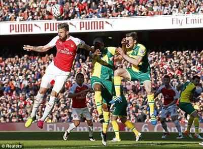 Chi tiết Arsenal - Norwich: Ngôi sao từ ghế dự bị (KT) - 6