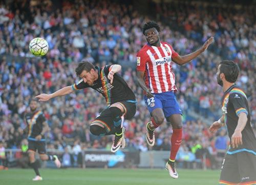 Atletico Madrid - Vallecano: Người hùng 40 giây - 1