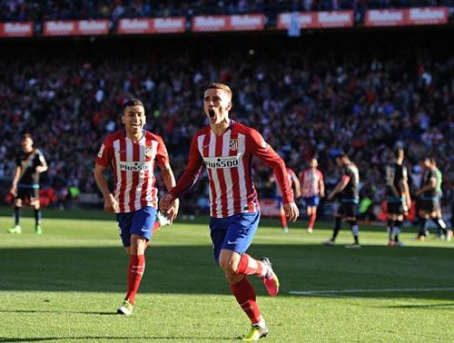 Atletico Madrid - Vallecano: Người hùng 40 giây - 2