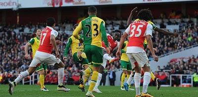 Chi tiết Arsenal - Norwich: Ngôi sao từ ghế dự bị (KT) - 8