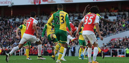 video Arsenal vs Norwich - 1