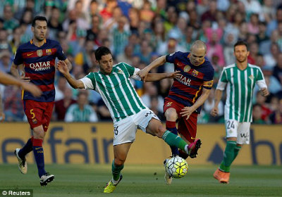 Chi tiết Betis - Barca: Hoàn thành mục tiêu (KT) - 4