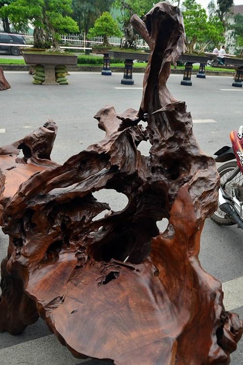 """Ngắm bộ bàn ghế gỗ lũa """"siêu độc"""" giá nửa tỷ đồng - 5"""
