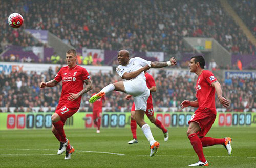 Video Swansea vs Liverpool - 1