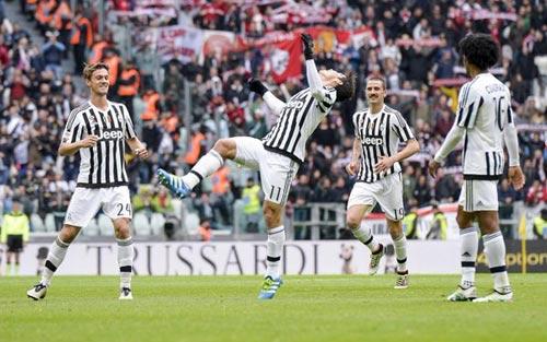 "Juventus – Carpi: ""Nhà Vua"" thị uy - 1"