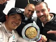 "Thể thao - Video F1 – Russian GP: Rosberg lập ""poker"""