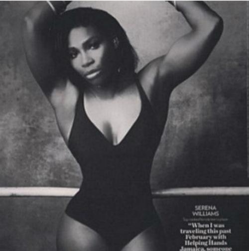 """Tennis 24/7: Serena bị """"ném đá"""" vì sửa ảnh quá lố - 1"""
