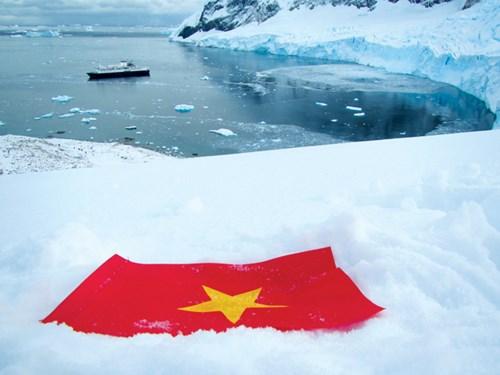 Cô gái mang thông điệp giới trẻ Việt đến Nam Cực - 2