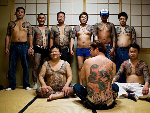 Ý nghĩa hình xăm rồng phượng trên người mafia Nhật - 1
