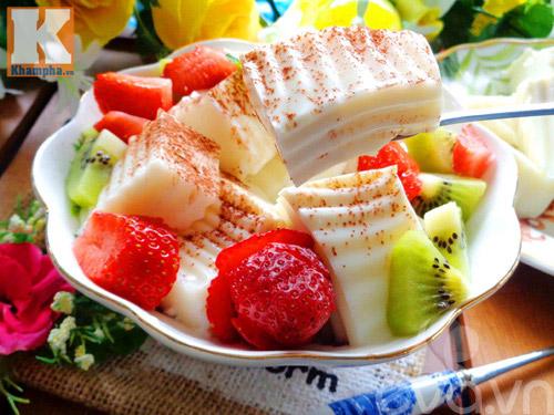 Sữa chua dẻo thơm mát cho ngày hè - 9