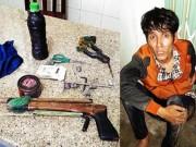 """An ninh Xã hội - """"Hiệp sĩ"""" tự phát bị công an thu giữ súng"""
