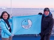 Bạn trẻ - Cuộc sống - Cô gái mang thông điệp giới trẻ Việt đến Nam Cực