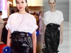 Váy hot nhất tuần: Đầm gây tranh cãi của Thanh Hằng