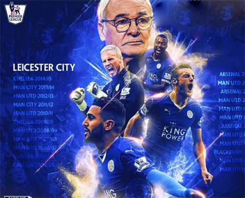 Leicester City vô địch NHA: Nhà vua chân đất (Infographic) - 1