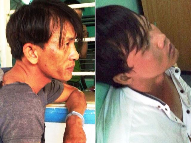 CSHS nổ súng, rượt đuổi 2 tên trộm trên phố Sài Gòn - 1