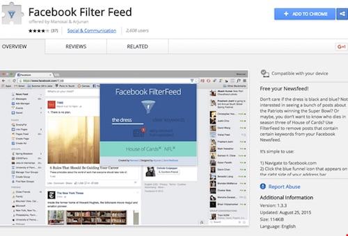 """Cần làm gì để tránh bị """"bội thực"""" thông tin trên Facebook? - 3"""