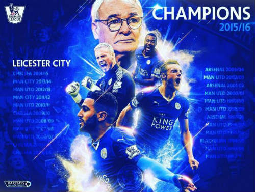 "Leicester & top 10  ""thần thoại"" của thể thao thế giới - 1"
