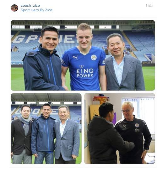 "Leicester City vô địch, Kiatisak & người Thái ""phát sốt"" - 1"