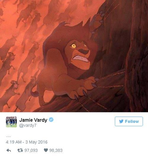 Leicester lên ngôi, Vardy trêu ngươi Harry Kane - 2